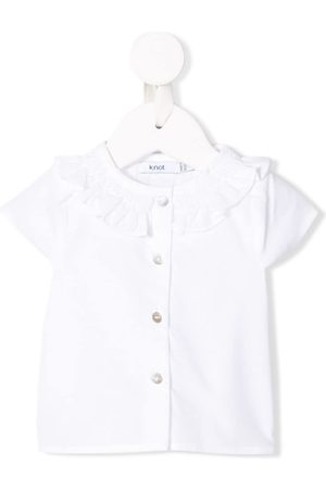 KNOT Shirts - Smock Collar Blouse