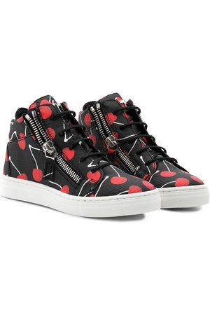 Giuseppe Zanotti Cherry print sneakers