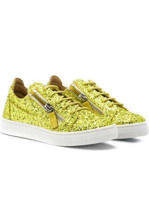 Giuseppe Zanotti Flat glitter sneakers