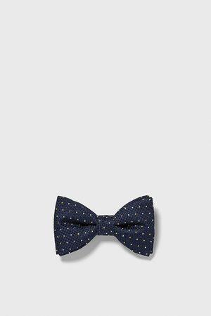 Zara Polka dot jacquard bow tie