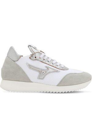 Mizuno Women Sneakers - L.s. Etamin Fabric & Leather Sneakers