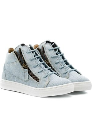 Giuseppe Zanotti Ankle lace-up sneakers