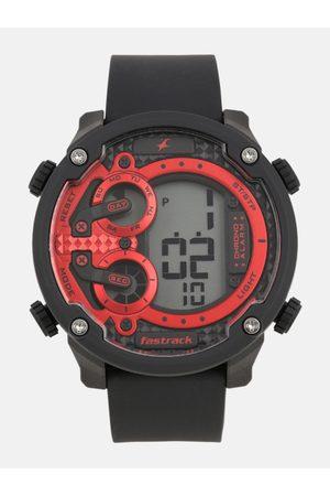 Fastrack Men Red Digital Watch 38045PP01