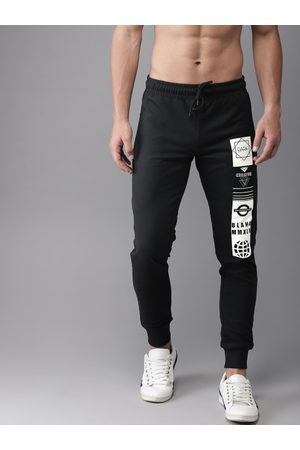 HERE&NOW Men Printed Joggers
