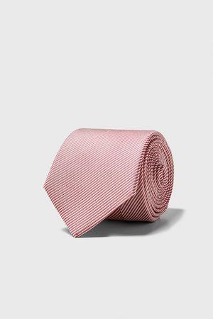 Zara Wide two-tone tie