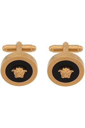 VERSACE Resin Medusa cufflinks