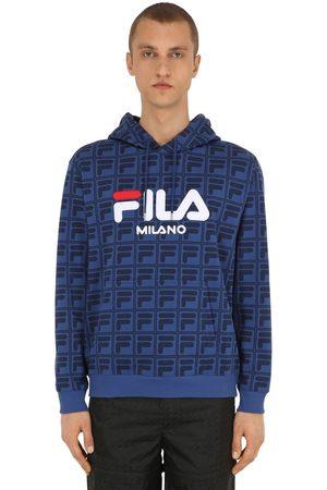 Fila Logo Printed Sweatshirt Hoodie