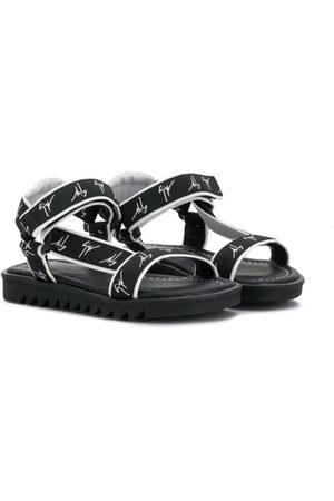 Giuseppe Zanotti Logo sandals