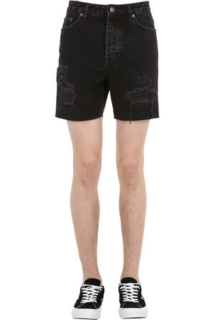 KSUBI Dagger Dan Cotton Denim Shorts