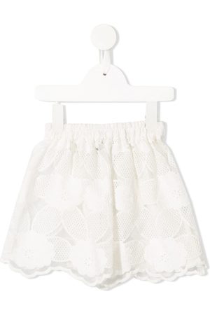 Little Bambah Mista floral embroidered skirt
