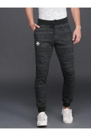 WROGN Men Black & Grey Joggers