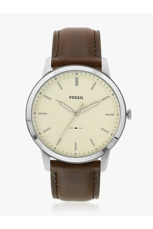 Fossil THE MINIMA Men Brown Analogue Watch FS5439