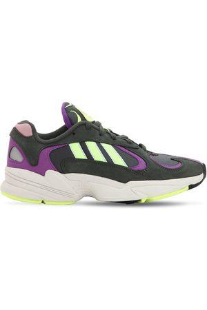adidas Men Sneakers - Yung-1 Leather & Mesh Sneakers