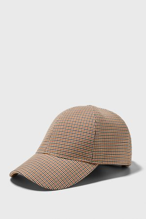 Zara Houndstooth cap