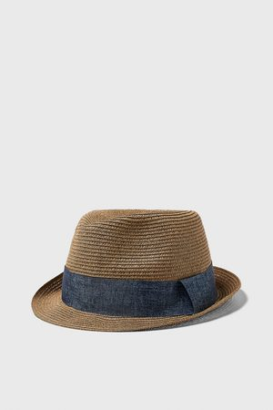 Zara Hat with contrast band