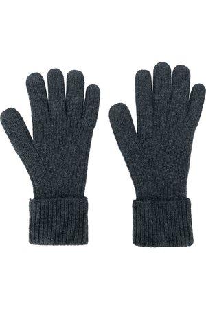 N.PEAL Men Gloves - Ribbed gloves