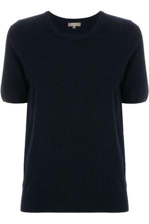 N.PEAL Women Short Sleeve - Cashmere round-neck T-shirt