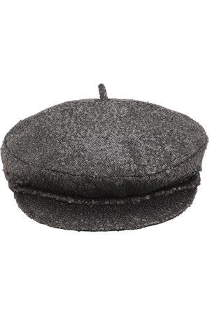 Le Mont St Michel Sequined Billy Soft Visor Hat
