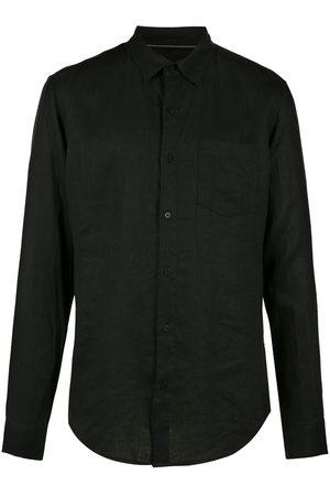 OSKLEN Men Long sleeves - Long sleeved linen shirt
