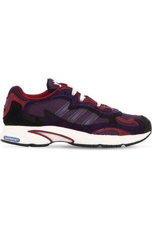 adidas Temper Run Leather & Mesh Sneakers