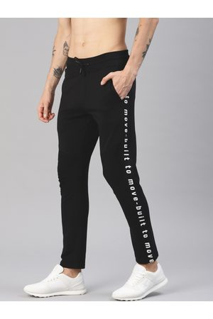 HRX Men Printed Track Pants