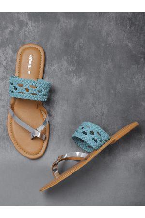 Anouk Women Braided One Toe Flats