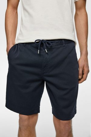 Zara Men Bermudas - Bermuda shorts with drawstrings