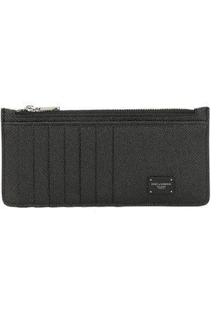 Dolce & Gabbana Men Wallets - Logo zipped wallet