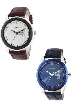TIMESMITH Men Blue Analogue Watch TSC-002-005