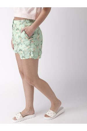 Mast & Harbour Women Printed Shorts