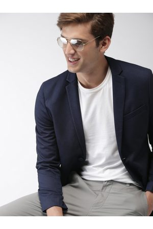 Mast & Harbour Single-Breasted Casual Blazer