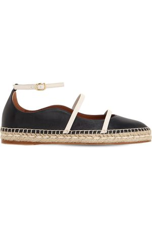 MALONE SOULIERS Women Casual Shoes - 20mm Selina Leather Espadrilles