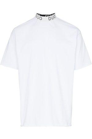 DUO Logo print cotton T-shirt
