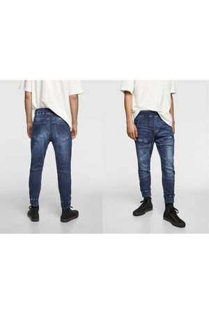 Zara Soft denim joggers