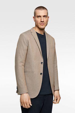 Zara Two-tone structured blazer