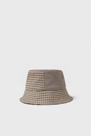 Zara Patchwork rain hat