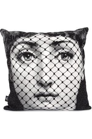 FORNASETTI Burlesque print pillow