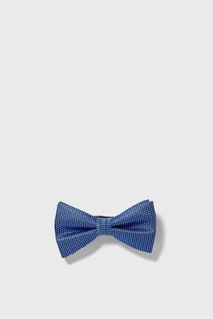 Zara Two-tone jacquard bow tie