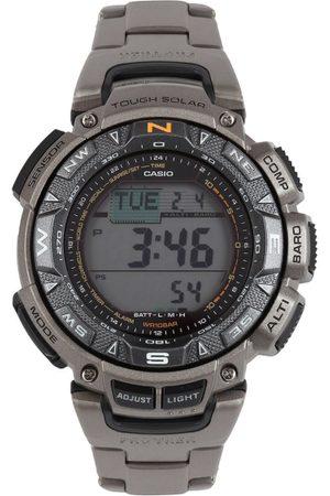 Casio Protrek Outdoor Men Grey Digital watch SL49 PRG-240T-7DR