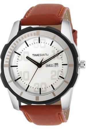 TIMESMITH Men White Analogue Watch TSC-017x