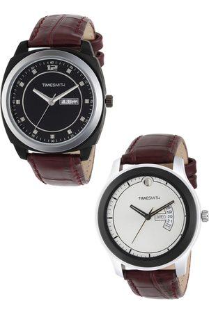 TIMESMITH Men Set of 2 Analogue Watches TSC-001-002x