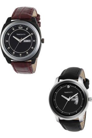 TIMESMITH Men Set of 2 Analogue Watches TSC-001-011x