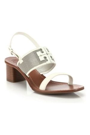Tory Burch Lowell Perforated Leather Sandals