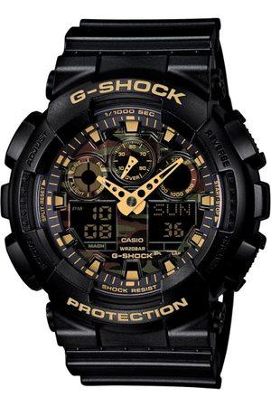 CASIO G-Shock Men Black Analogue and Digital watch G519 GA-100CF-1A9DR