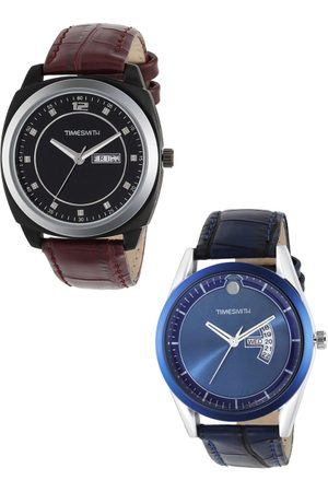 TIMESMITH Men Set of 2 Analogue Watches TSC-001-005x