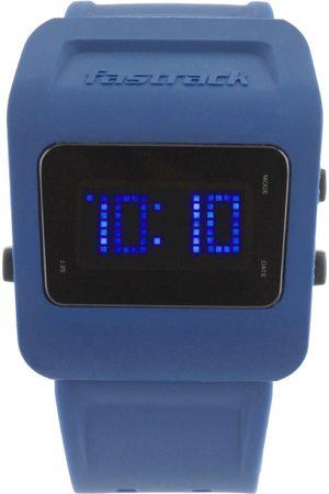 Fastrack Digitals Men Blue LED Digital Watch 38011PP02J