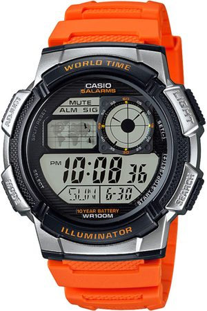 Casio Youth Series Men Orange Dial Digital Watch AE-1000W-4BVDF - D121