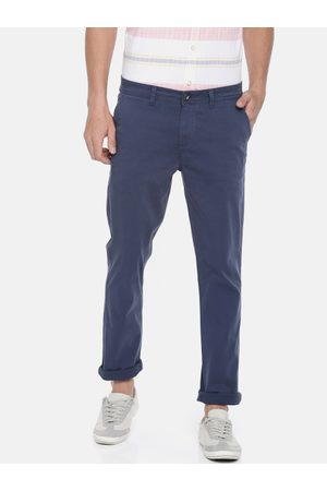 Pepe Jeans Men Slim Fit Solid Chinos
