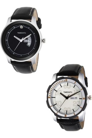 TIMESMITH Men Set Of 2 Leather Analogue Watches TSC-004-006x