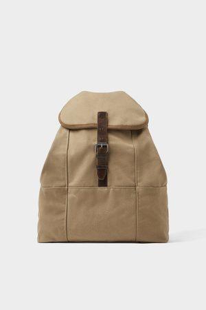 Zara Cotton backpack